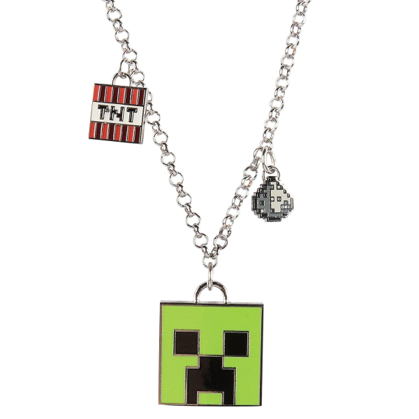 "Minecraft Necklace ""Enchanted Creeper"""