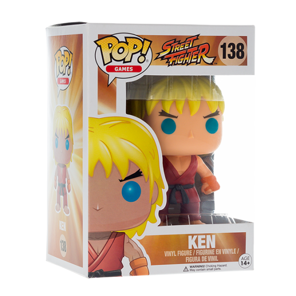 Street Fighter Figure Ken POP! Vinyl
