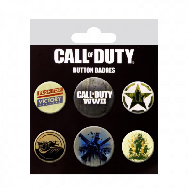 CALL OF DUTY BUTTON BADGES 1