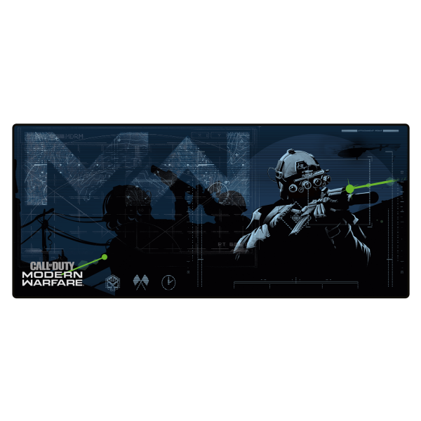 CALL OF DUTY MODERN WARFARE OVERSIZE MOUSEPAD IN SIGHT