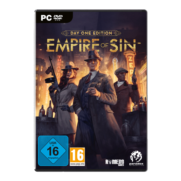 Empire of Sin Day One Edition - PC