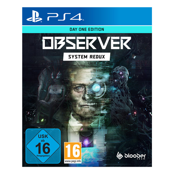 Observer: System Redux Day One Edition - PS4