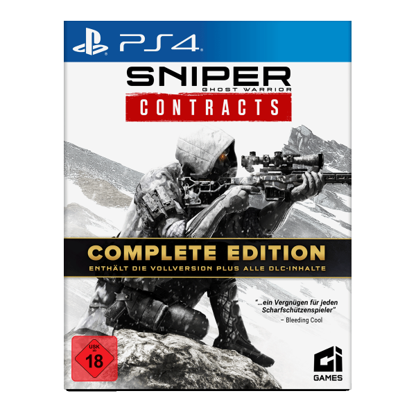 Sniper Ghost Warrior Contracts Complete Edition - PS4