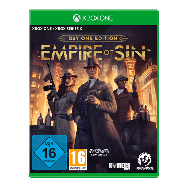 Empire of Sin Day One Edition - XONE