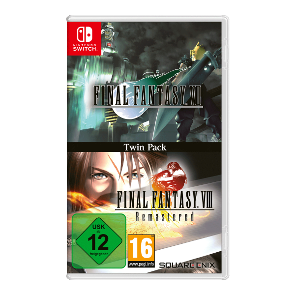 Final Fantasy VII & Final Fantasy VIII Remastered Twin Pack - Switch