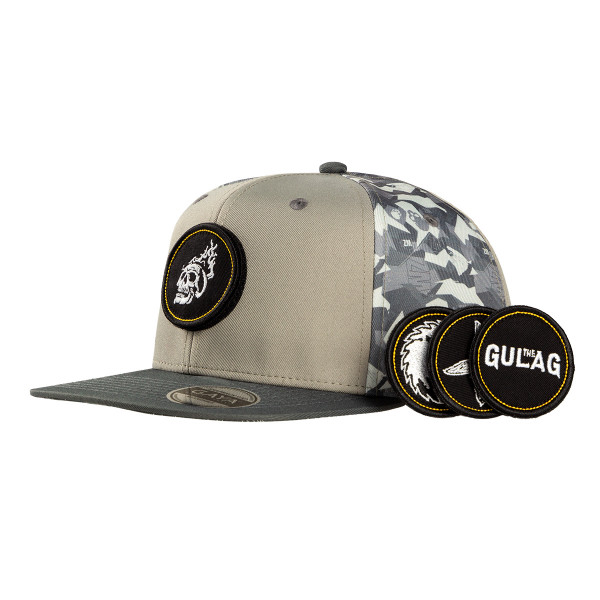 """Call of Duty Warzone Snapback """"Military Pattern"""" (incl. 4 Patches)"""
