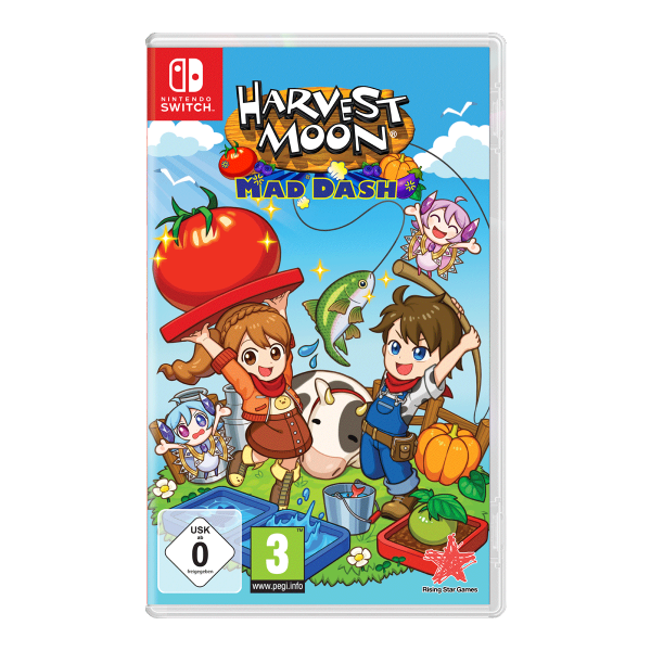 Harvest Moon Mad Dash - Switch