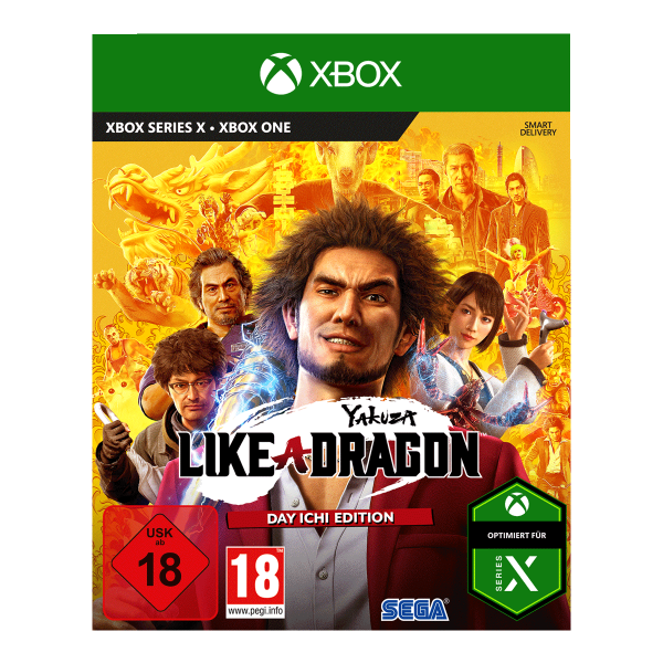 Yakuza 7: Like a Dragon - Day Ichi Edition - XONE