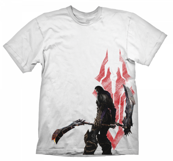 DARKSIDERS T-SHIRT DEATH AND SYMBOL