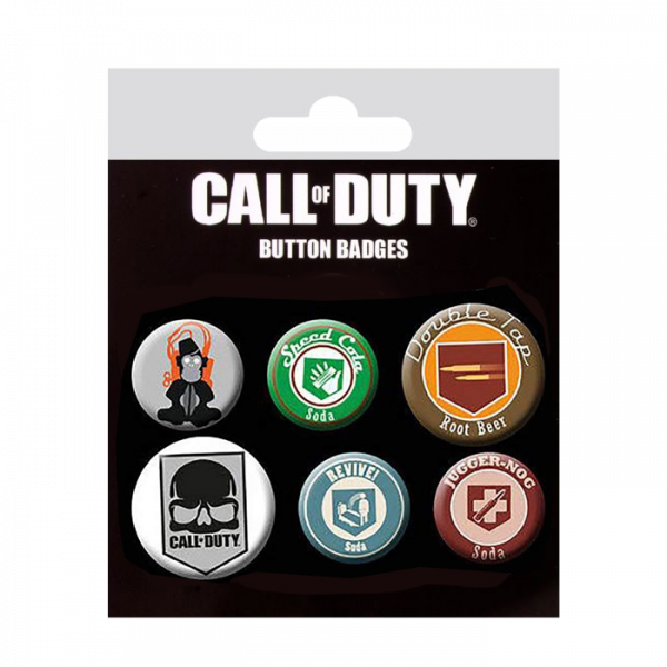 CALL OF DUTY BUTTON BADGES 2