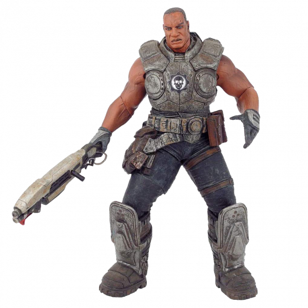 "Gears of War Action Figure ""Augustus Cole"""
