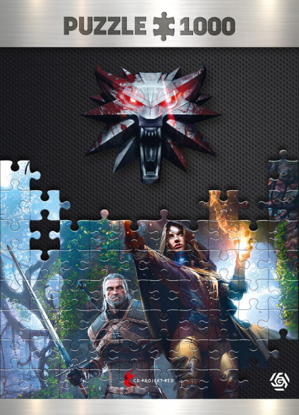 "The Witcher Puzzle ""Yennefer"" (1000 pcs)"