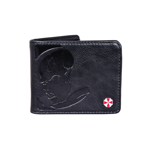 RESIDENT EVIL 2 WALLET ZOMBIE EMBOSSED FAUX