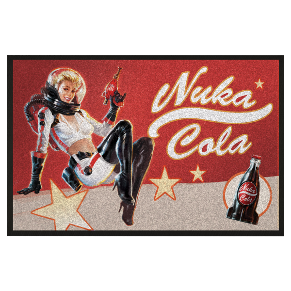 FALLOUT DOORMAT NUKA PIN-UP