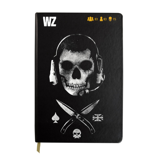 """Call of Duty Warzone Notebook """"Ghost"""""""
