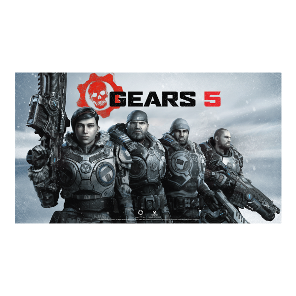 """Gears Of War Poster """"Squad"""""""