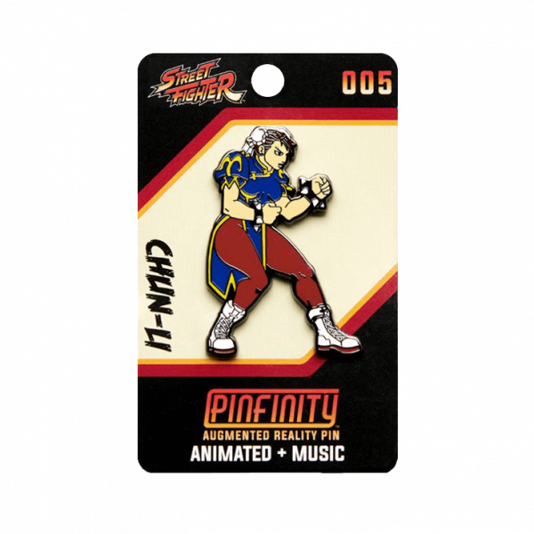 "Street Fighter AR Pin ""Chun-Li"""