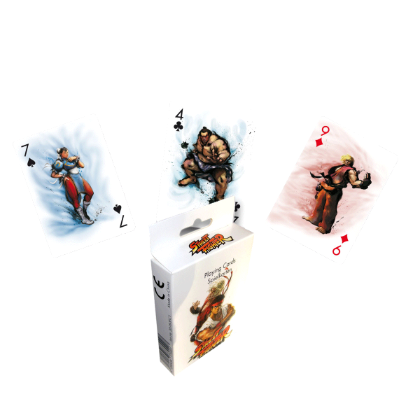 Street Fighter Playing Card Set