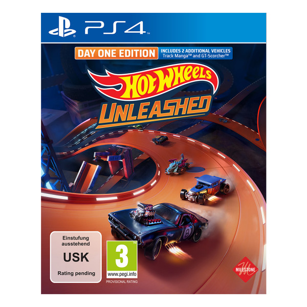 Hot Wheels Unleashed Day One Edition - PS4