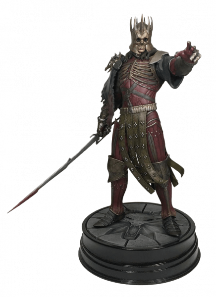 THE WITCHER STATUE KING EREDIN BREACC GLASS