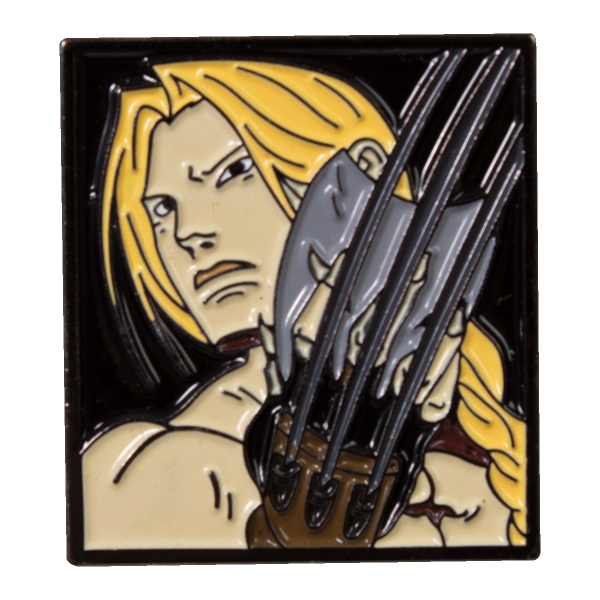 Street Fighter Metal Pin Vega