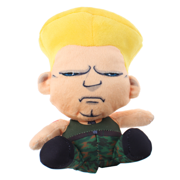 STREET FIGHTER PLUSH GUILE