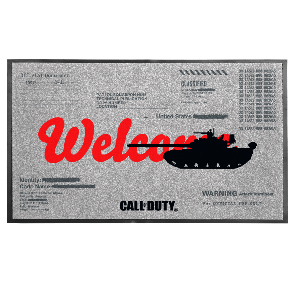 "Call of Duty: Cold War Doormat ""Welcome"""