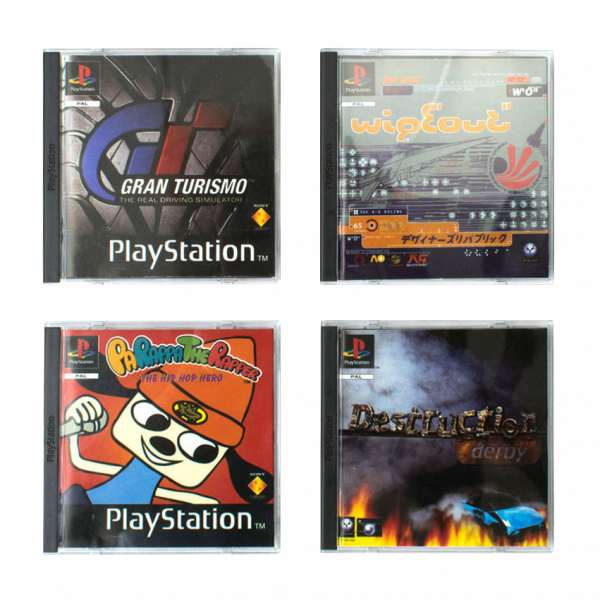 "Playstation Coasters ""Game Classics"""
