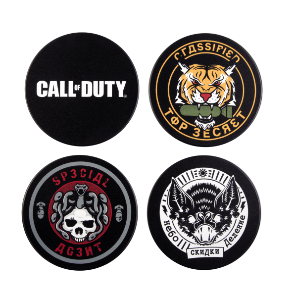 "Call of Duty: Cold War Coaster Set ""Badges"""