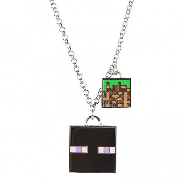 "Minecraft Necklace ""Enchanted Enderman"""