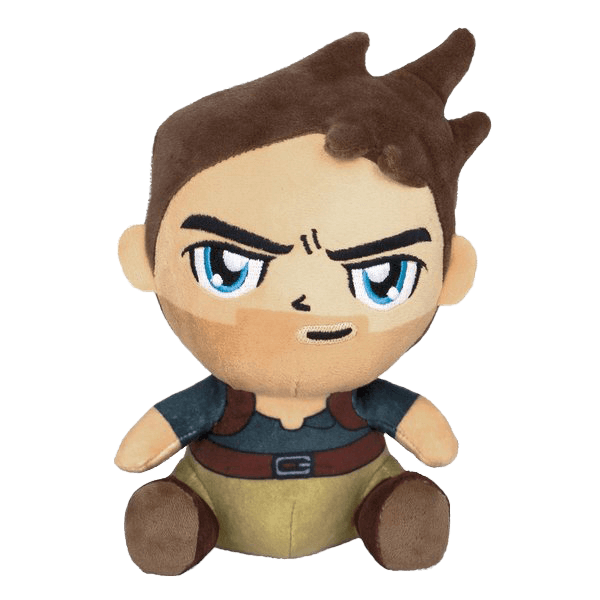 UNCHARTED 4 PLUSH NATHAN DRAKE STUBBINS
