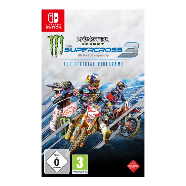 Monster Energy Supercross - The Official Videogame 3 - Switch