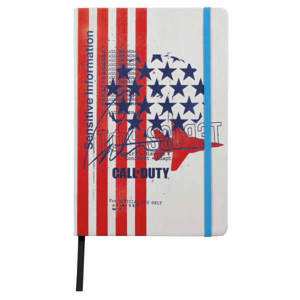 "Call of Duty: Cold War Notebook ""Fly Over"""