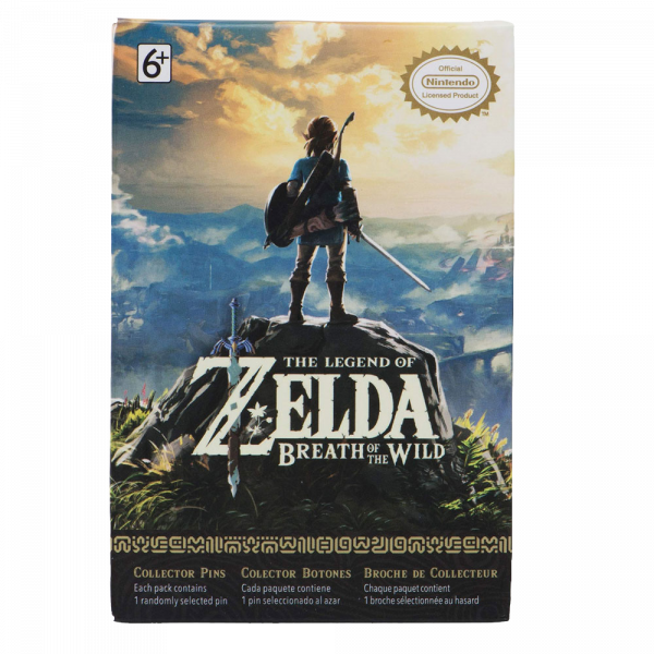 """The Legend Of Zelda Collector's Pin """"Breath Of The Wild"""" Series 3"""