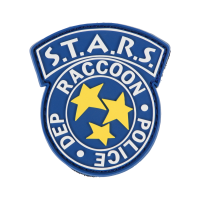 """Resident Evil Rubber Patch """"S.T.A.R.S."""""""