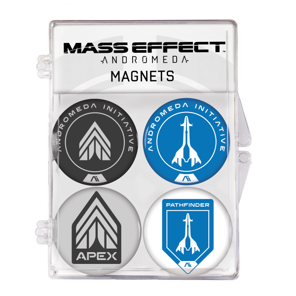 """Mass Effect Andromeda Magnets """"4-Pack"""""""