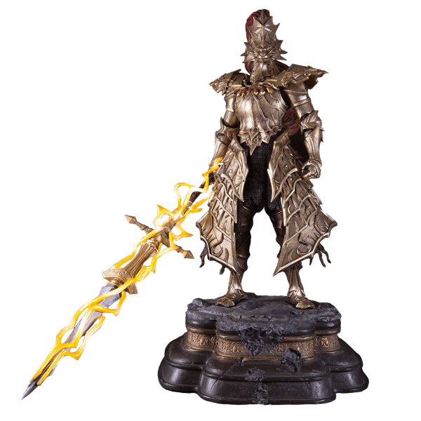 DARK SOULS STATUE DRAGON SLAYER ORNSTEIN F4F