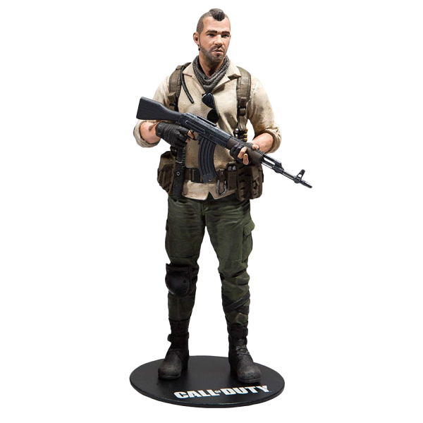 CALL OF DUTY FIGURE JOHN SOAP MACTAVISH MCFARLANE