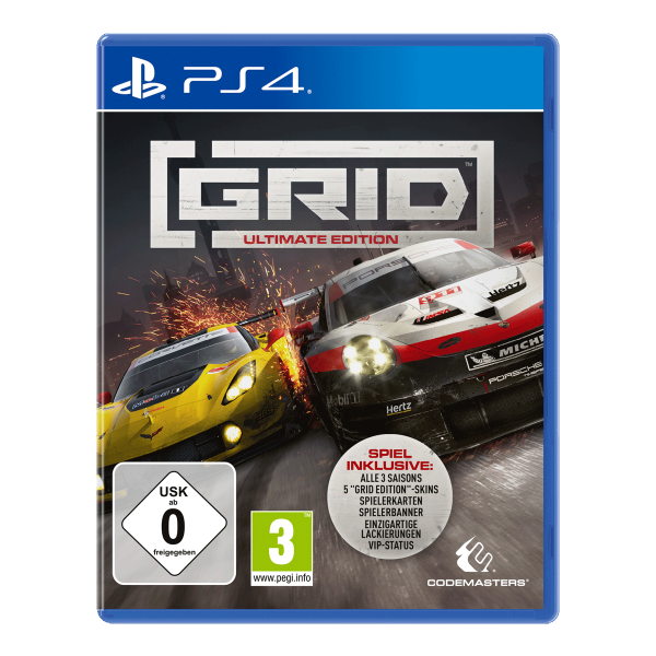 GRID ULTIMATE EDITION - PS4