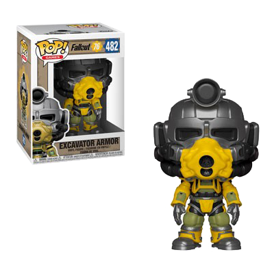 FALLOUT 76 FIGURE EXCAVATOR POWER ARMOR POP VINYL