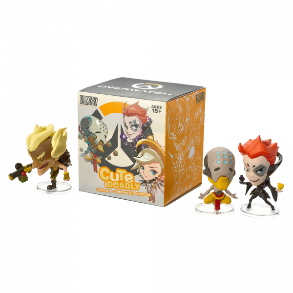 OVERWATCH FIGURE CUTE BUT DEADLY SERIES 5