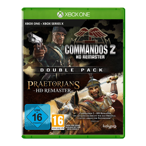 Commandos 2 & Praetorians: HD Remaster Double Pack - XONE