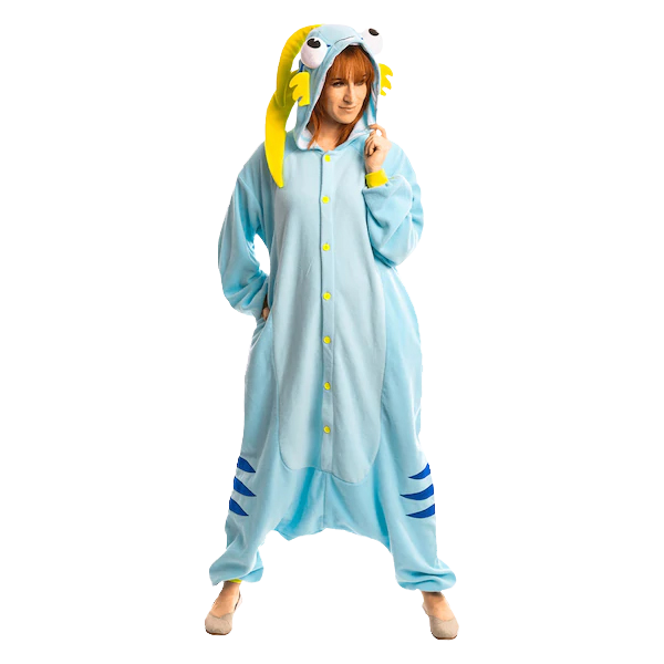 "Hearthstone Kigurumi ""Blue Murloc"" Cute but Deadly"