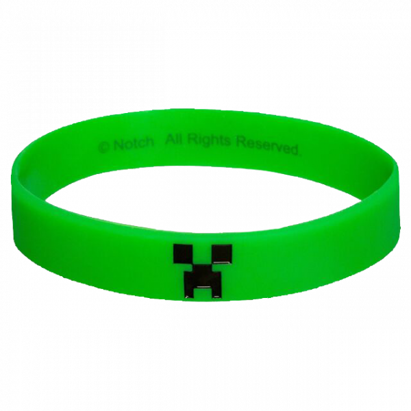 "Minecraft Wristband ""Creeper"""