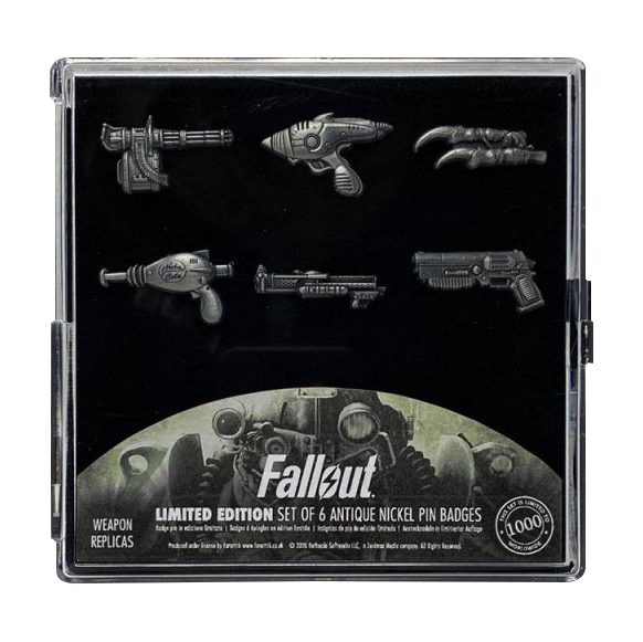"Fallout Pin Set ""Badges"""
