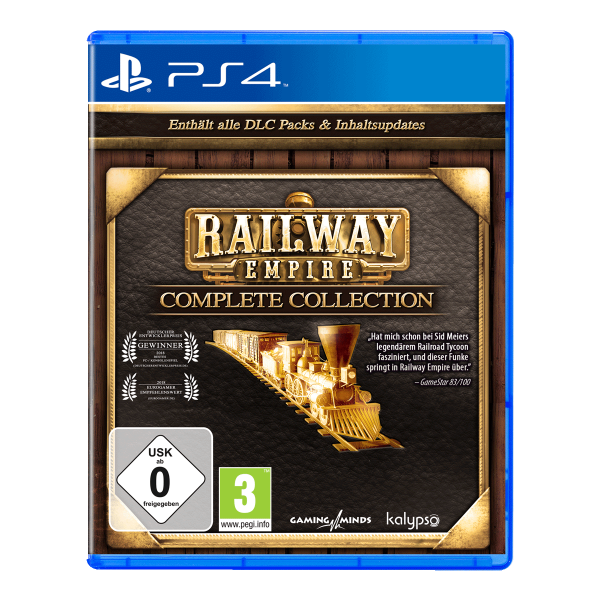 Railway Empire Complete Collection - PS4