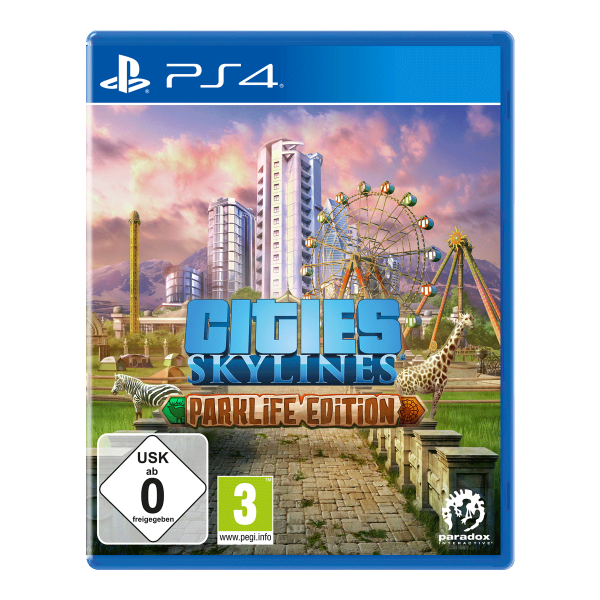 Cities: Skylines - Parklife Edition - PS4