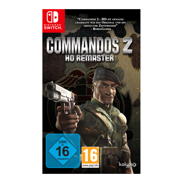 Commandos 2 - HD Remaster - Switch