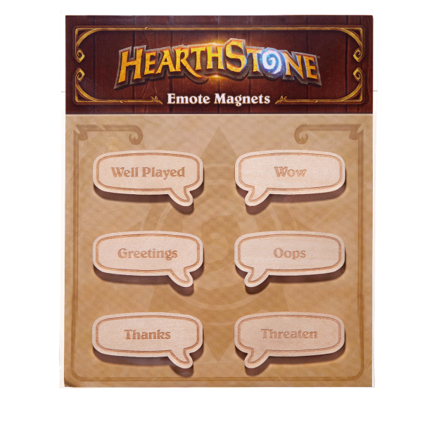 HEARTHSTONE MAGNET SET EMOTE