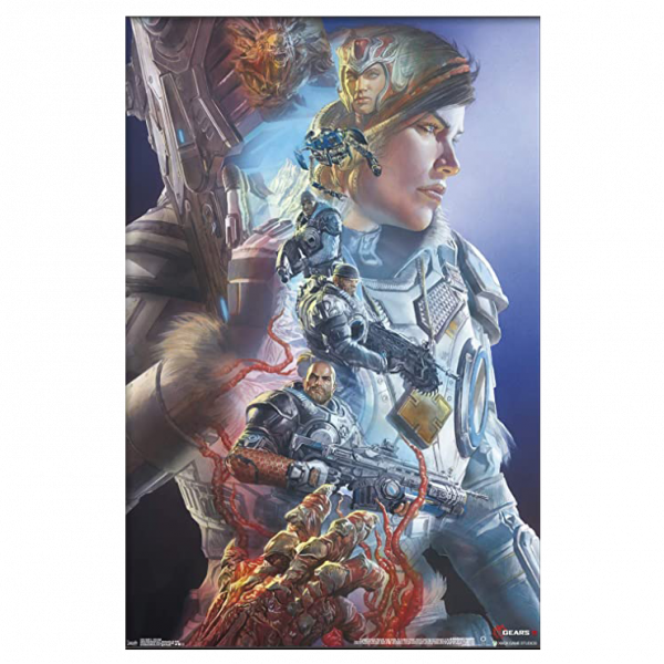"Gears Of War Poster ""Alex Ross"""